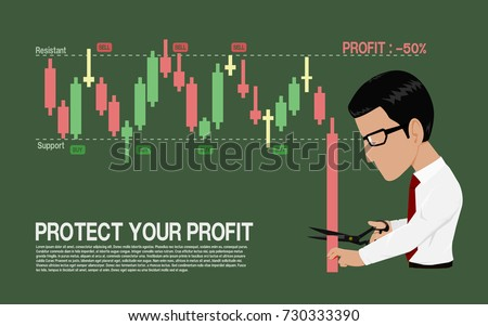 investor  is stopping loss with