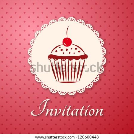 invitation applique card