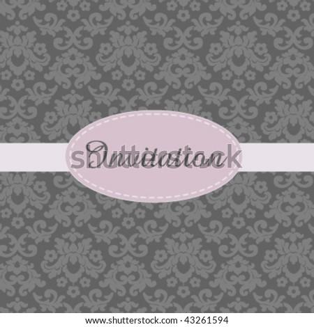 Invitation card Foto stock ©