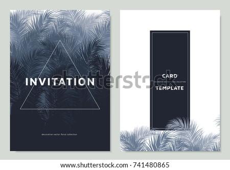 invitation card template design