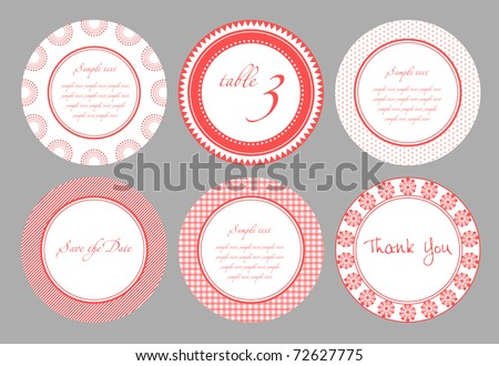 card template for wedding