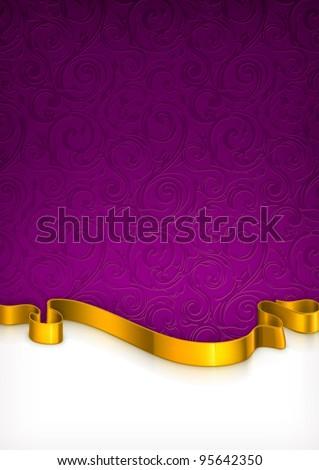 Invitation Card, vector - stock vector