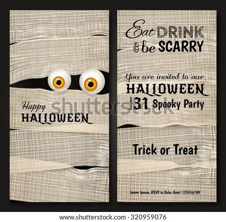 invitation design for halloween