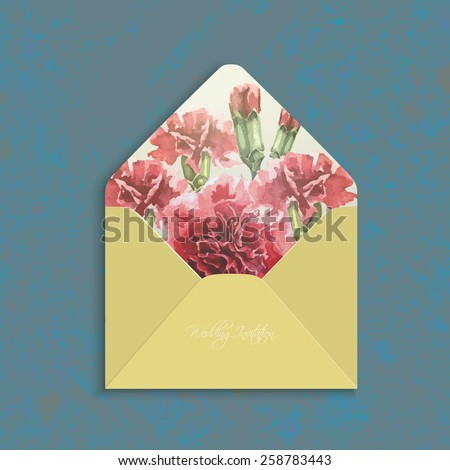 invitation envelope with...