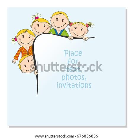 invitation for a children's