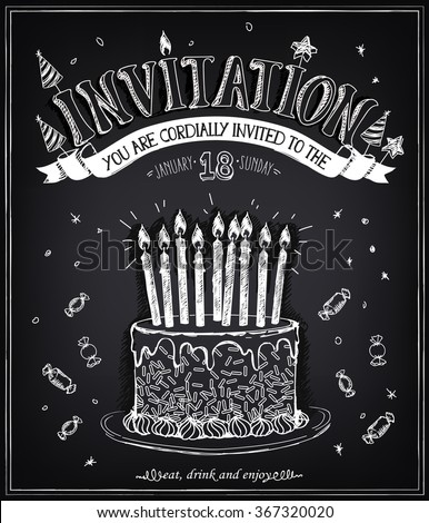 invitation to the birthday