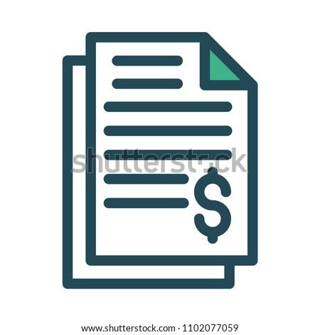 invoice bill document
