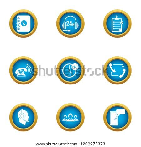 invoke icons set flat set of 9