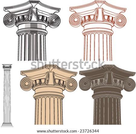 Ionic pillar