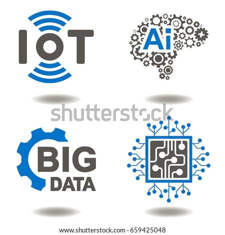 iot ai big data microchip