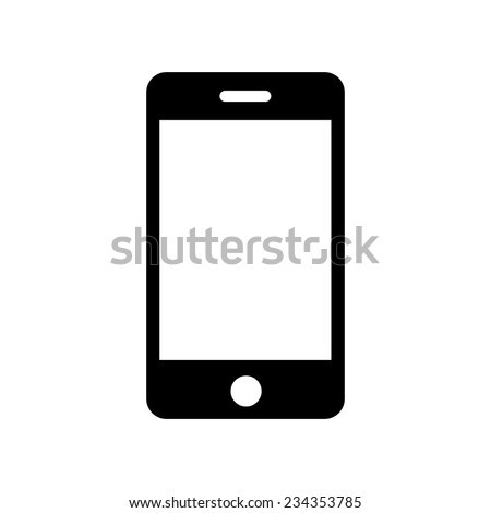 iphone icon  vector illustration