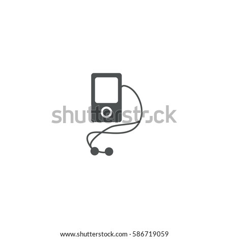 ipod icon. sign design