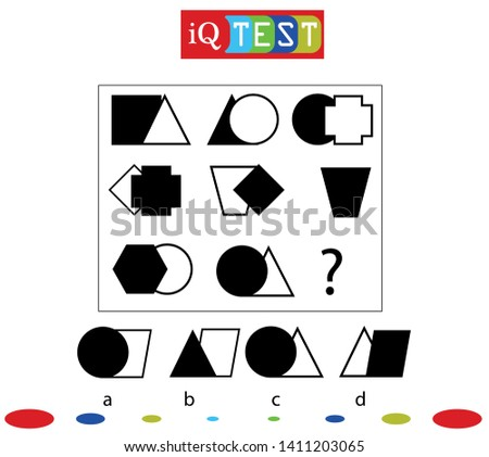 IQ Test Practical questions intelligence questions Practical Questions. Worksheet. Mathematical puzzle game. Learning mathematics, tasks for addition for preschool children.