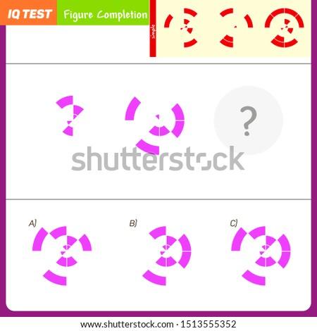 IQ Test - Practice questions, Quick thinking, Interpretation, Math intelligence, Visual intelligence development question