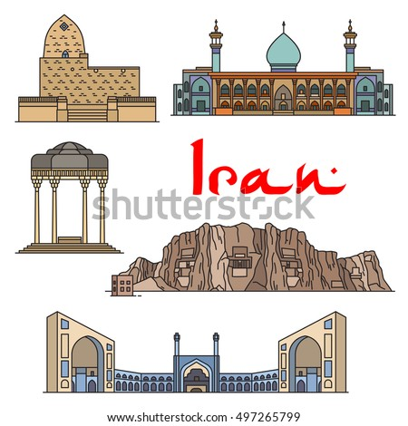iran architecture and landmarks