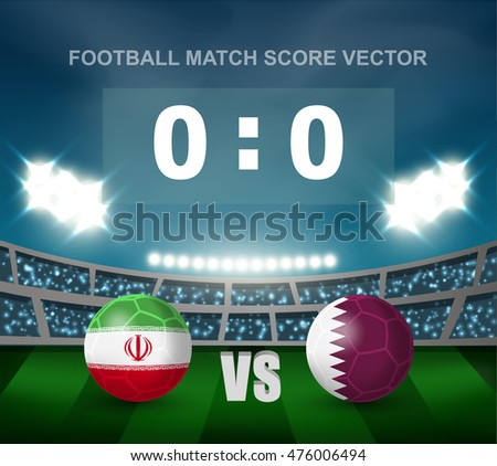 live Qatar score