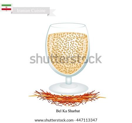 iranian cuisine  bel ka sharbat