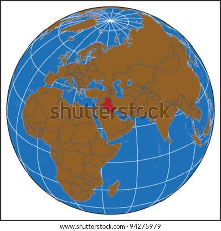 Iraq Locate Map