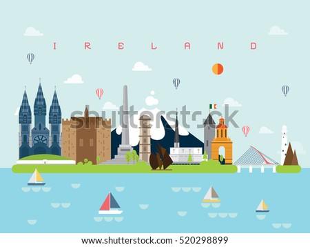 ireland famous landmarks