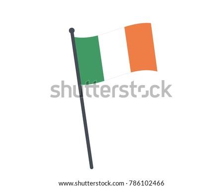 ireland flag the national flag