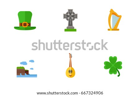 ireland icon set