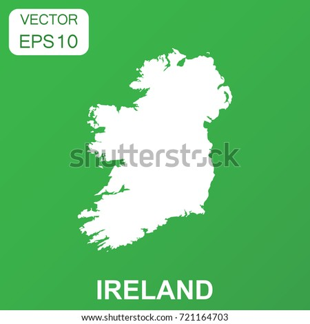 ireland map icon business