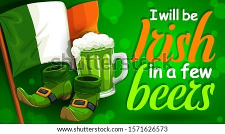 irish spring holiday  st