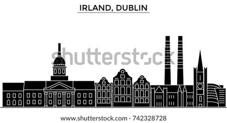 irland  dublin architecture