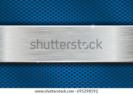 iron brushed metal texture on