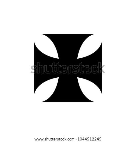 iron cross icon elements of