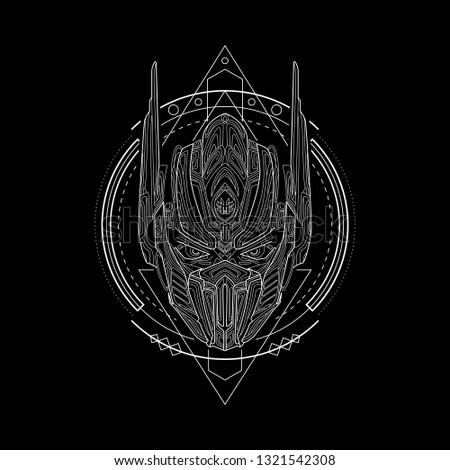 iron knight geometry style