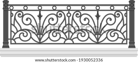 iron railings for the city