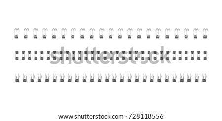 iron spiral for fastening