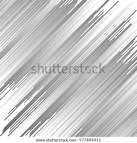 Irregular dynamic lines abstract monochrome pattern. Linear (grid, mesh) texture