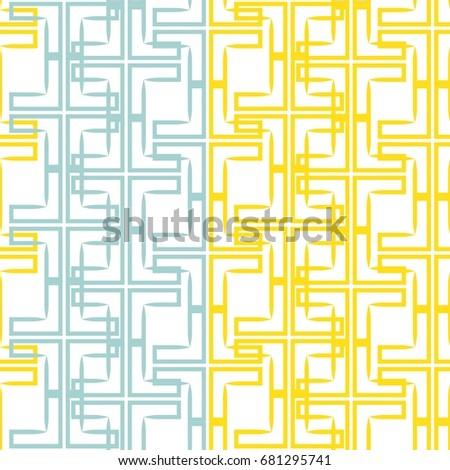 irregular maze shapes tiling