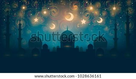 islam magical oriental night