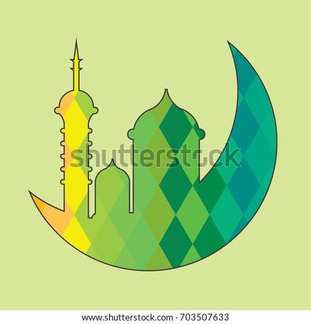 islam mosque crescent moon