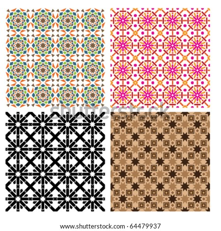 islamic geometric patterns - eric broug