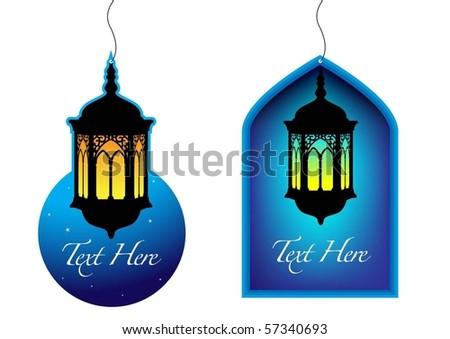 Islamic celebration danglers
