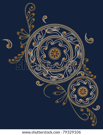 Islamic Embroidery Pattern