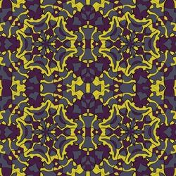 Islamic mosque seamless pattern graphic design. Moroccan geometric tile ornament. Wallpaper seamless pattern. Traditional islamic abstract geometric shapes ornament. Arabesque vector background