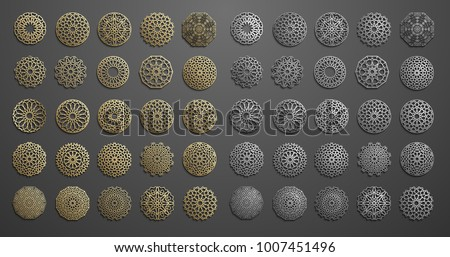 islamic ornament vector