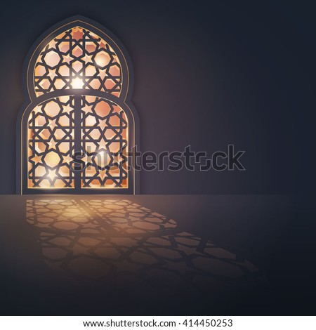 islamic vector design greeting
