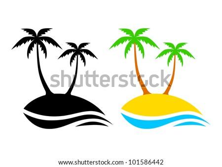 palm island vector download free vector art stock graphics images rh vecteezy com island vector art iceland vector