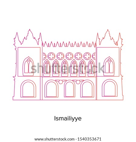 ismailiyya vector illustration