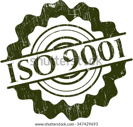 ISO 9001 rubber texture