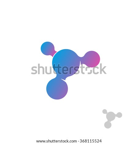 isolated abstract vector logo