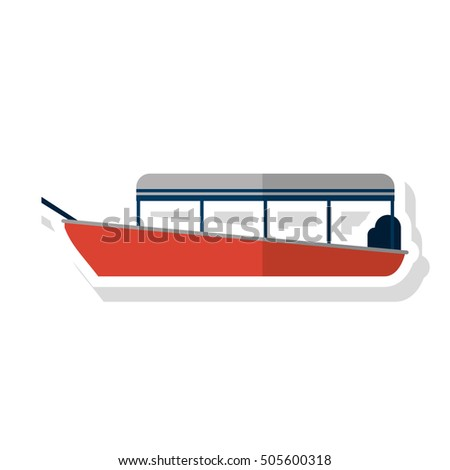 Isolated boat ship design