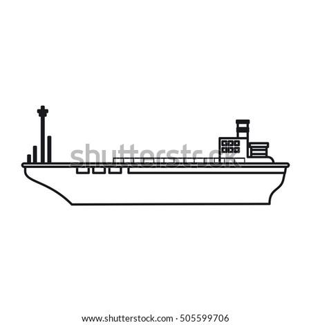 Isolated cargo ship design