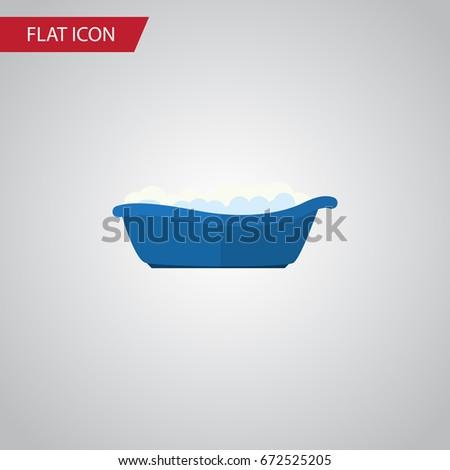 isolated children bathing flat